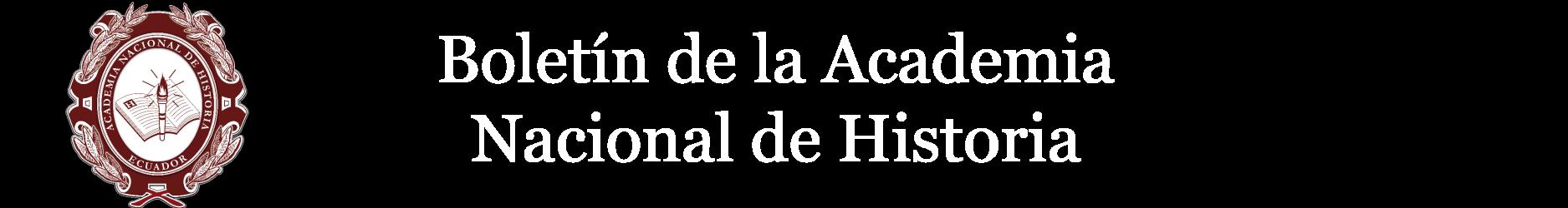 Boletin Academia Nacional de Historia