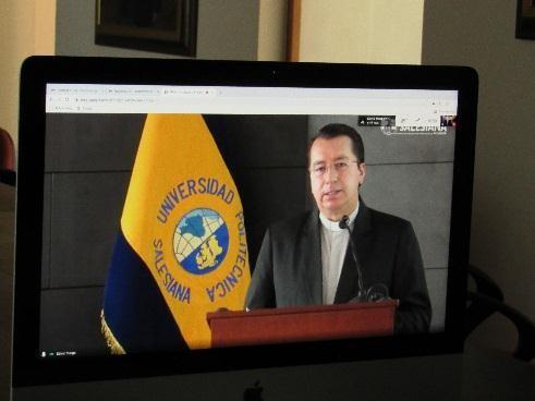 Padre Juan Cárdenas Tapia, Rector U.P.S.